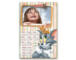 Calendari Looney Tunes - Calendario fotografico 30x45 Tom & Jerry 1