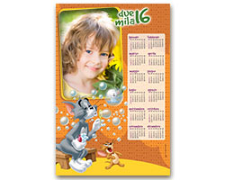 Calendari Looney Tunes - Calendario fotografico 30x45 Tom & Jerry 2