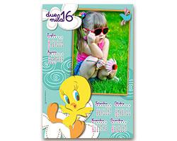 Calendari Looney Tunes - Seipiùsei Tweety 1
