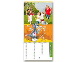 Calendari Looney Tunes - Fogli Staccabili Tom & Jerry