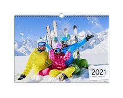 Calendari Multipagina Classici - Calendario A3 orizzontale