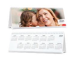Calendari Multipagina Classici - Calendario da tavolo orizzontale