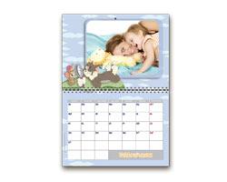 Calendari Multipagina Looney Tunes - Calendario giorni personalizzabili Tom & Jerry