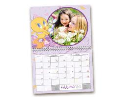 Calendari Multipagina Looney Tunes - Calendario Big giorni personalizzabili Tweety