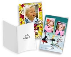 Biglietti augurali e cartoline Looney Tunes - Biglietti 12x18 verticali