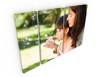 Tele Split - Tele Split 3 (1) 25x75 cm (1) 40x75 cm (1) 50x75 cm