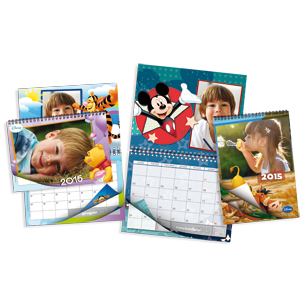 Photos Calendriers - Calendriers Multi-page<br>Disney