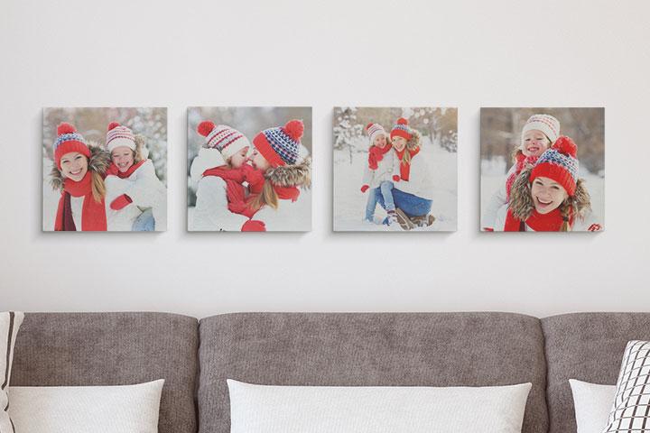 Alcune idee uniche per personalizzare le pareti di casa - Altezza quadri sopra divano ...