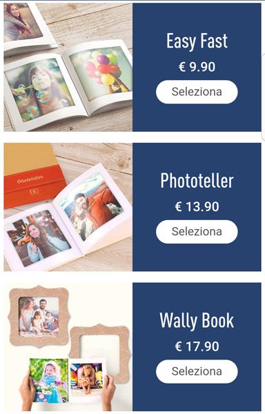 Stampa foto da app - Fotolibri