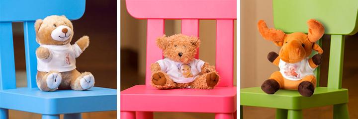 Regali per bambini: Peluche con foto