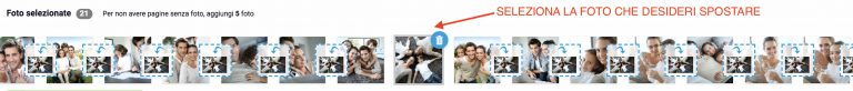 Fotolibro - Spostare foto 1