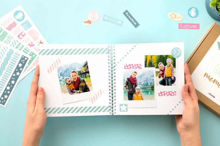 Scrapbook - Fotolibro fai da te