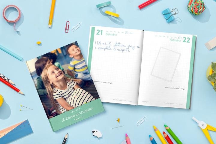 Diario scuola personalizzato