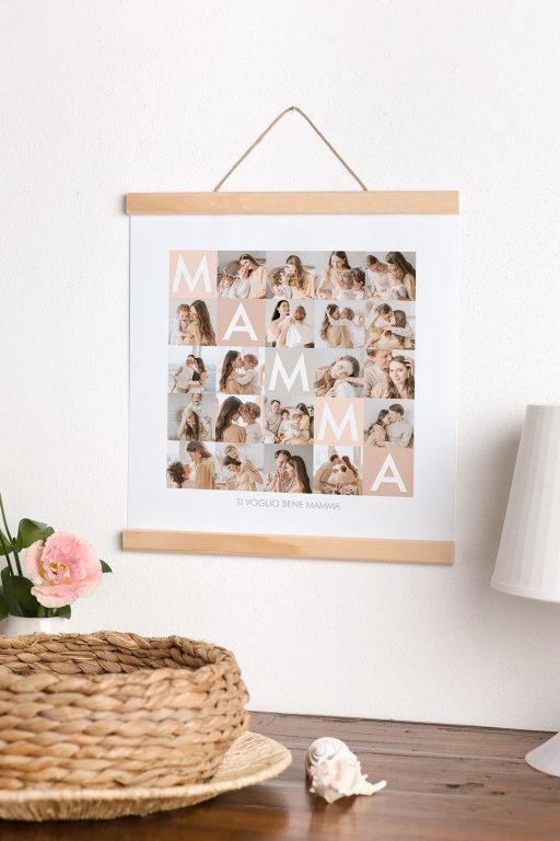cosa regalare alla mamma poster collage