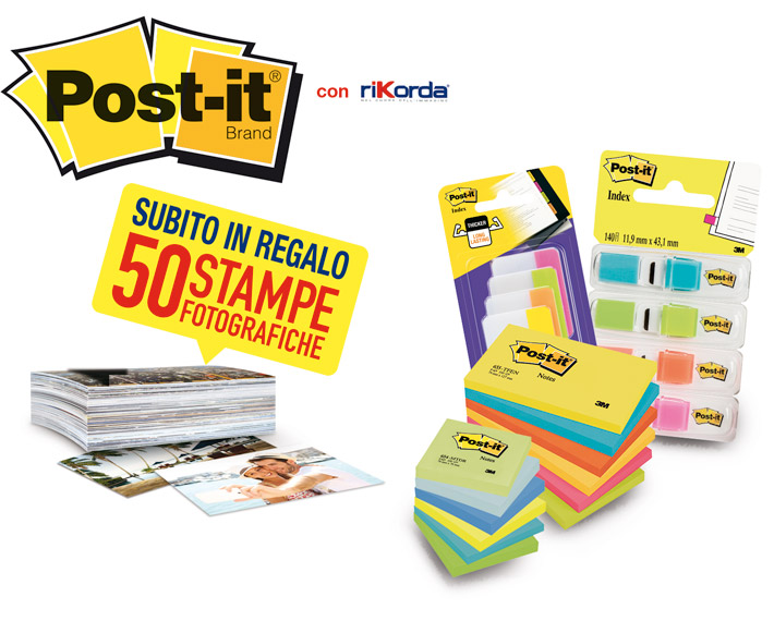 co-mkt Rikorda - Post-it