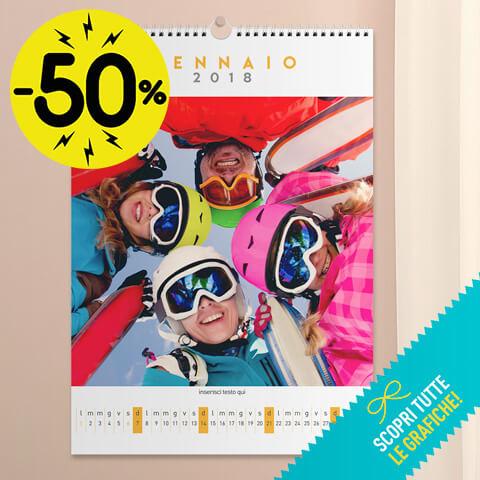 Calendario Multipagina - 29x42 cm (Artè)