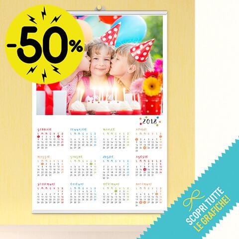 Calendario  Poster - 30x45 cm (Personal)