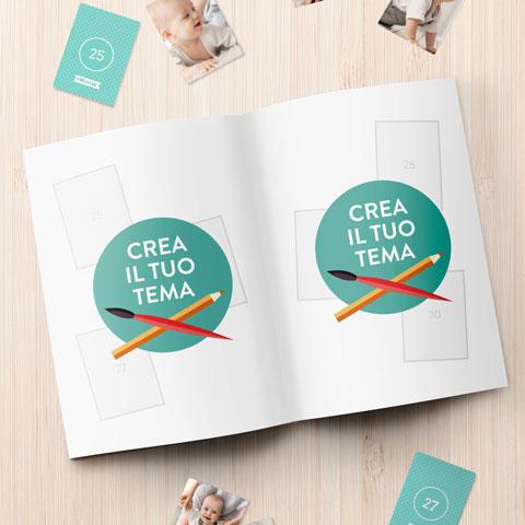 Album Figurine Crea il tuo tema Album Figurine Personalizzato