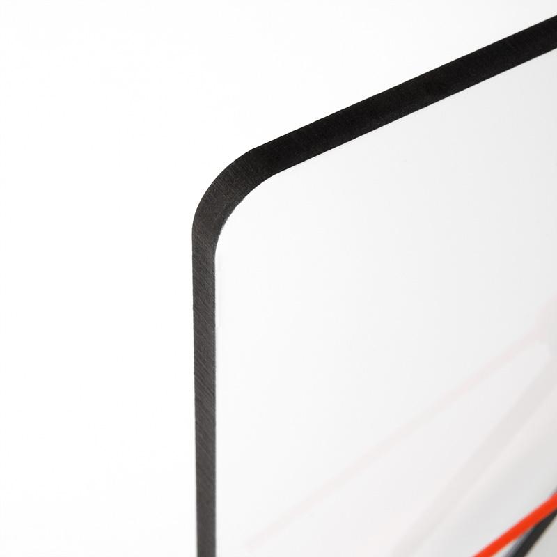 Orologio da Tavolo Quadrato Orologio da Tavolo con stampa Chromaluxe