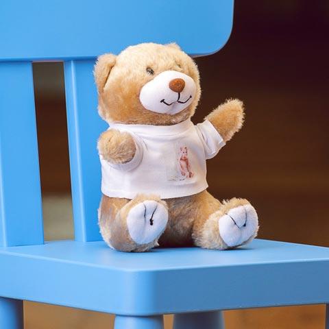 Orsetto Teddy peluches Orsetto 19 cm