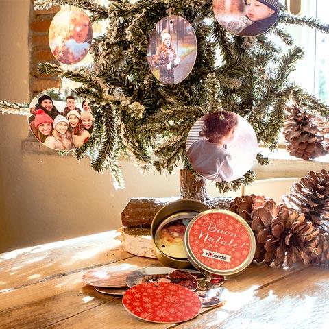 Set di palle di Natale Diametro 9 cm