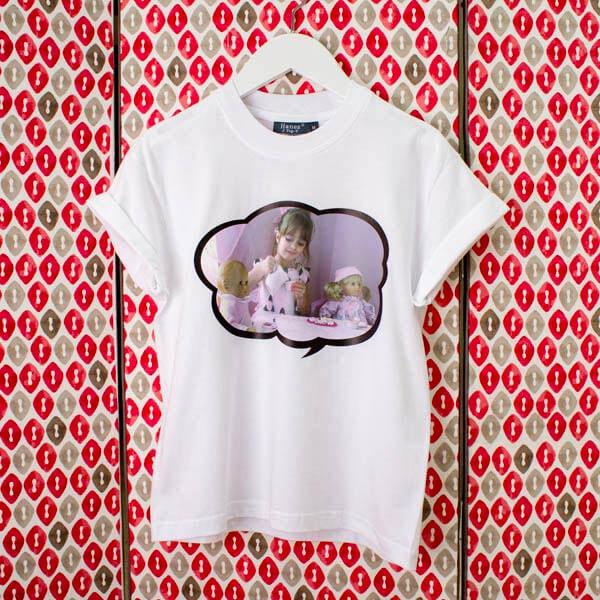 T Shirts Bambino personalizzata Maglietta personalizzata 100% cotone